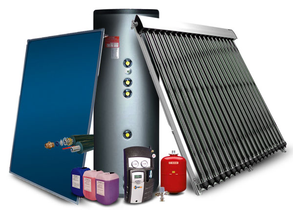 Pre-Packaged Solar Hot Water & Heating Systems