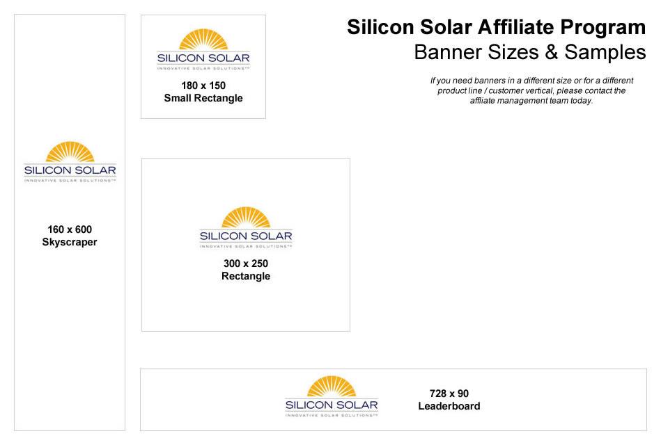 Silicon Solar Affiliate Program Shop Solar