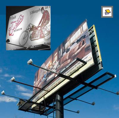 Solar Billboard Lights