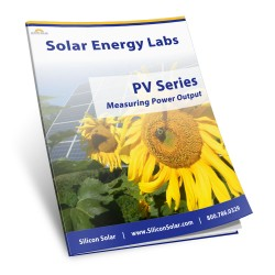 Solar Lab - PV - Measuring Power Output