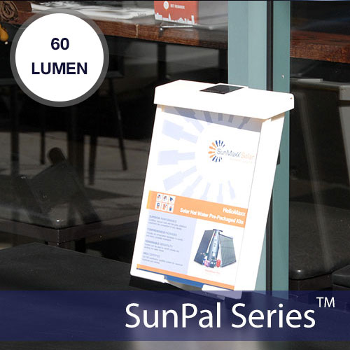SunPal Solar Brochure Box Light