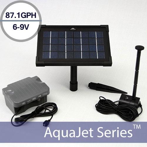 Solar Water Fountain Pump with Battery Backup 9V – AquaJet Pro Kit