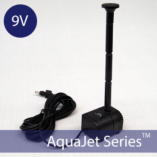 Solar Fountain Pump – AquaJet Pro PUMP 6-9V