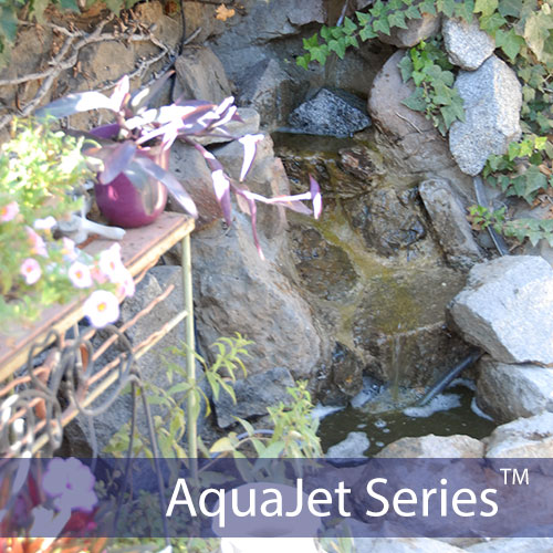 aquajet solar waterfall fountain pump - Solar Water Fountain