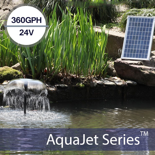 12-24v Medium Output Solar Water Pump Kit