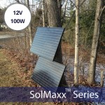 SolMaxx 100 Watt 100w W Monocrystalline Photovoltaic PV Solar Panel Module 12V Battery Charging