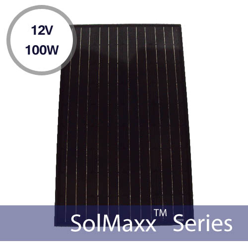Ramsond 100 Watt Monocrystalline Photovoltaic Solar Panel 12v
