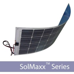 22W Semi-Flexible Solar Panel