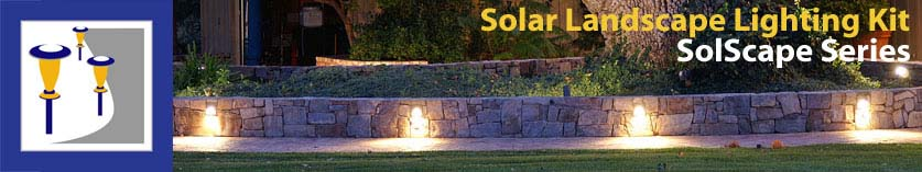 solar landscape lighting kit