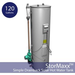 120 gallon StorMaxx SDB Domestic Hot Water DrainBack Tank