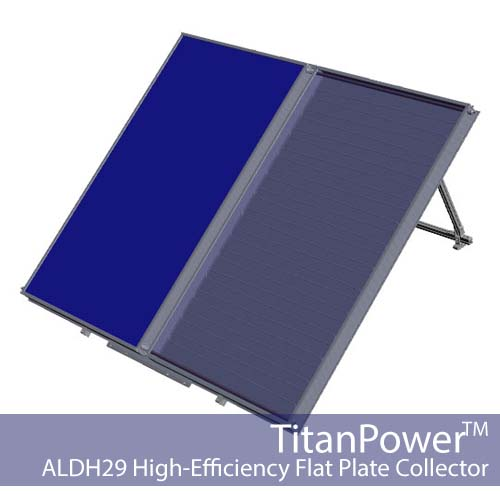 TitanPower-ALDH29 Flat Plate Solar Collector