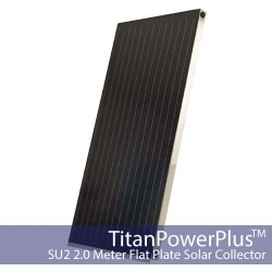 TitanPower Plus SU2 Solar Flat Plate Collector