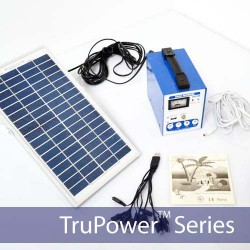 TruPower Compact Solar Power Kit