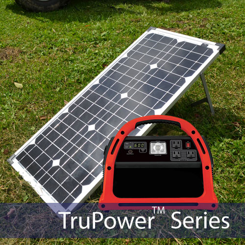 TruPower PowerPack 600 Portable Solar Charging Station