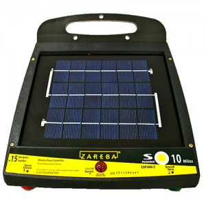 Zareba® 10 Mile Low Impedence Solar Powered Fence Charger