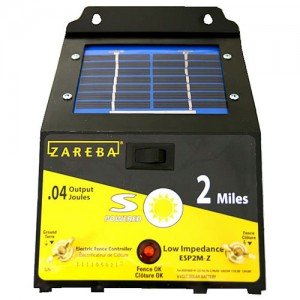 Zareba® 2 Mile Solar Powered Electric Fence Charger