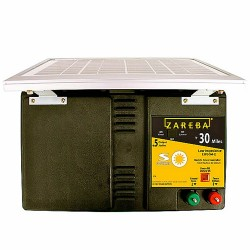 30 Mile Low Impedence Solar Powered Fence Charger