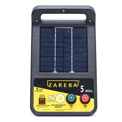Zareba® 5 Mile Solar Electric Fence Charger Shop Solar